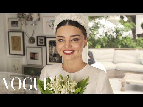 Download Miranda Kerr's Fairy-Tale Wedding Dress Fitting | Vogue HD Mp4 3GP Video and MP3