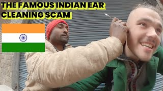 Avoid This Man In India! Ear Cleaning Scam EXPOSED!