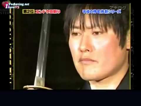 Isao Machii - Chém đạn bằng Kiếm Nhật o.O