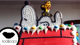 How to Make a Snoopy Gingerbread House | Become a Baking Rockstar