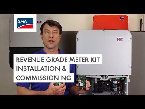 Revenue Grade Meter Kit Installation & Commissioning