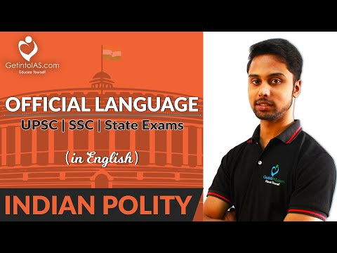 Download Official Language | Indian Polity | In English | GetintoIAS.com Mp4 HD Video and MP3