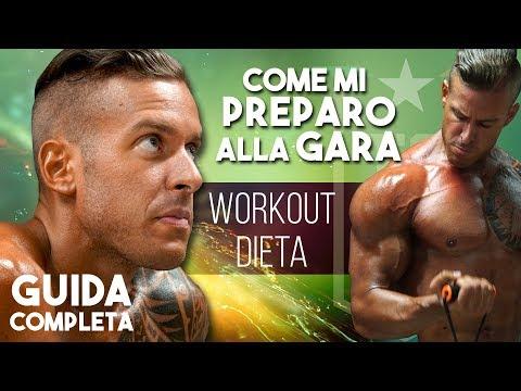 PREPARAZIONE alla gara - Il mioworkout, dieta e dedizione - GUIDA COMPLETA