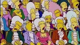Mozart Y Salieri (Parte 2/3) Los Simpson