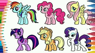 Cara Menggambar My Little Pony Free Online Videos Best Movies Tv