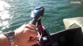 Лодочный электромотор Flover F33TG - видео 1