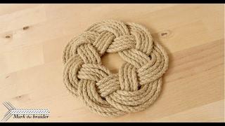 Round Rope Mat- Rope Hot Pad