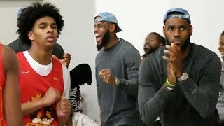 Bronny James Teammate Skyy Clark WENT WILD N CRAZY Gets To The Finals! LeBron James LOVES IT!