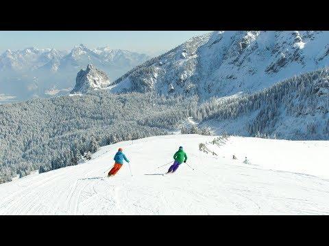 Skifahren in Pfronten im Allgäu