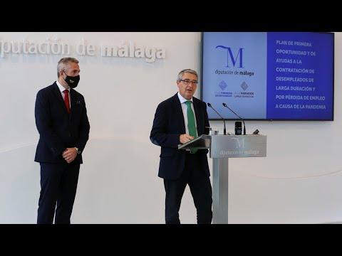 Presentación del Plan de Primera Oportunidad y de ayudas a la contratación de desempleados de larga duración y por pérdida de empleo a causa de la pandemia