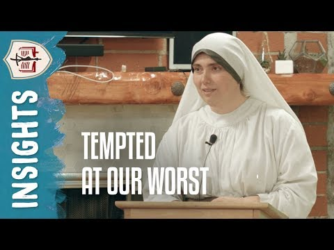 Lent and Being Tempted at Our Worst | Faculty Lecture by Sr. Anahyd