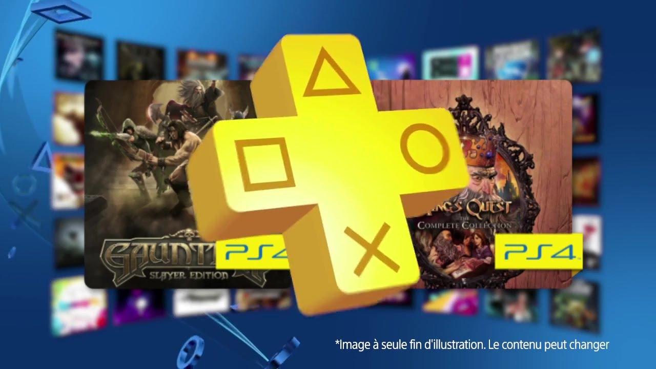 PlayStation Plus de décembre : Gauntlet, Kings Quest, et bien d'autres…