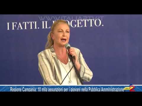 Regione Campania. Il piano De luca: &#34&#59;Dare lavoro a 10 mila giovani nella pubblica amministrazione&#34&#59;