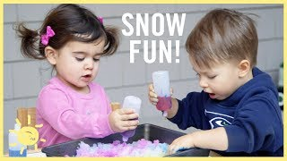 "PLAY | 3 ""Snow"" Activities!"