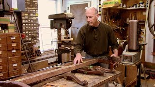 Repairing and Restoring an Antique Settee