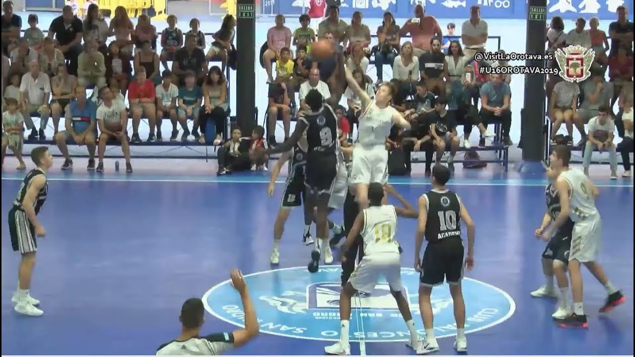 U16M - REAL MADRID vs STELLA AZZURRA ROMA.- FINAL Torneo Internacional Cadete La Orotava 2019