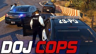 Dept. of Justice Cops #578 - High Risk Prisoner Transport