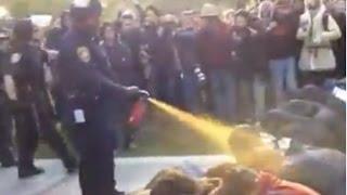 Полиция задула газом ORJEUNESSE ч1