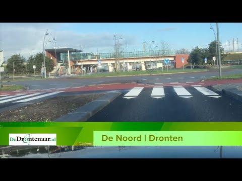 VIDEO | De Noord in Dronten tussen het centrum en het station, toen en nu