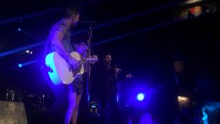 "Dan + Shay featuring Tori Kelly ""Can't Say No"" Anaheim California March 20 2015"