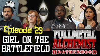 Fullmetal Alchemist: Brotherhood - Episode 23 - Girl on the Battlefield - Group Reaction