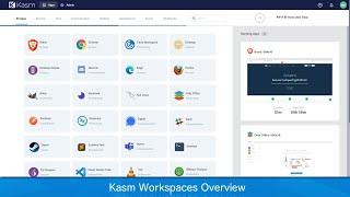 Vídeo de Kasm Workspaces