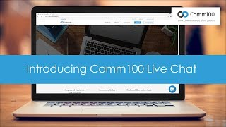 Comm100 Live Chat video
