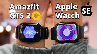 Apple Watch SE vs. Amazfit GTS 2: Muss eine gute Smartwatch immer teuer sein? - Test