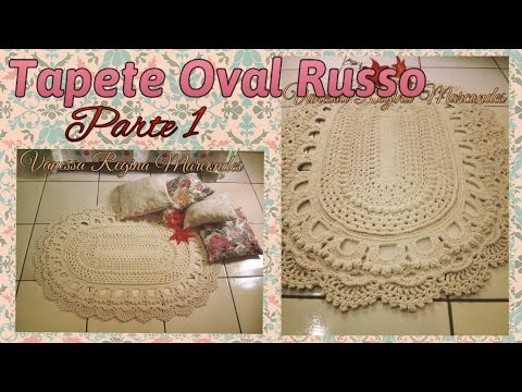Tapete Oval Russo