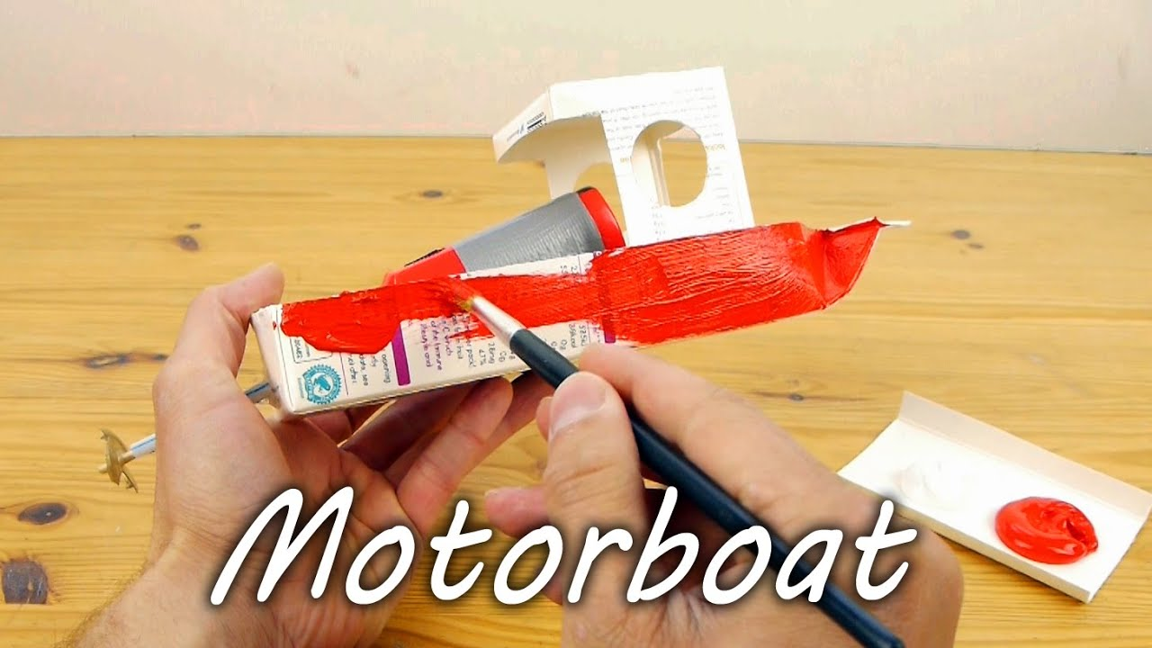 How to Make a Model Motorboat thumbnail