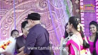 Pandiarajan Son Wedding Reception