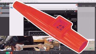 [教學]電吉他:卡祖笛效果器 (愚人節影片)