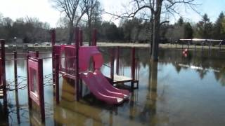preview picture of video 'Hanover Flooding - One Week Later - April 19, 2014'