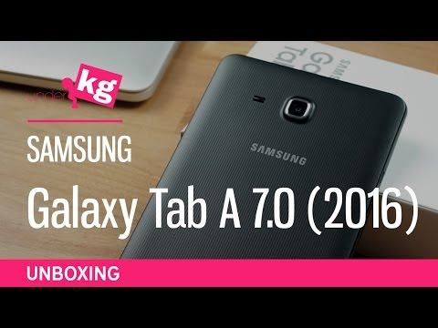Samsung Galaxy Tab A 7.0 (2016) Unboxing [4K]