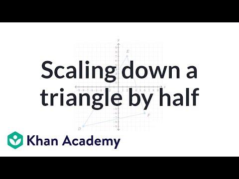 Dilating shapes  shrinking (video)   Khan Academy 3b29caed39