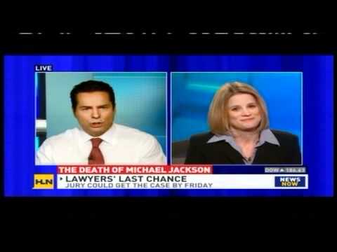 Meg Strickler on HLN discussing Conrad Murray trial and the death of Michael Jackson on 11/2/11