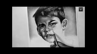 Best Shading Techniques // Pencil Drawing Masterpiece Inspired By Charles Laveso