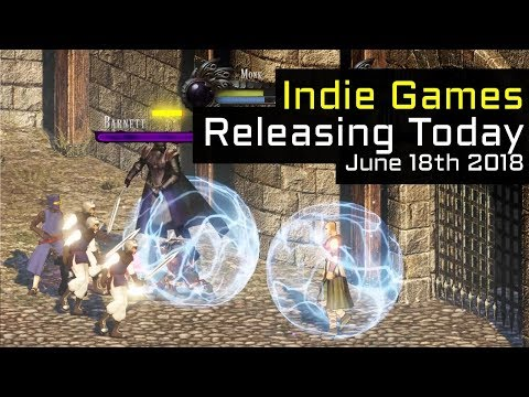 Top 2 New Indie Games Releasing Today - June 18th 2018