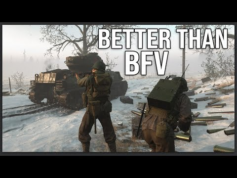 This is what Battlefield V should have been... - Hell Let Loose