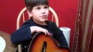 Evan sings Alan Jackson