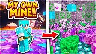 THIS *NEW* PERSONAL MINE IS RIDICULOUS   Minecraft Prison   VanityMC   Versus [4]