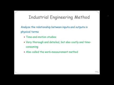 mp4 Industrial Engineering Method, download Industrial Engineering Method video klip Industrial Engineering Method