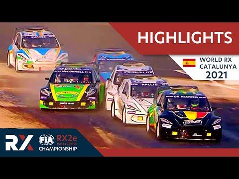 世界ラリークロス 第1戦スペイン(カタルニア)2021年 RX2eクラスのハイライト動画