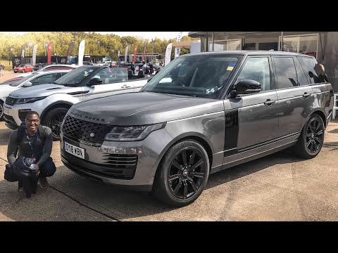 This 2018 Range Rover is Loaded With Tech | Range Rover P400e PHEV Review