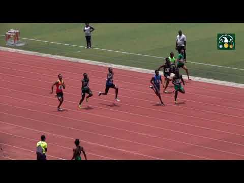 Download Emmanuel Arowolo Wins Men's 100m Heat 5 At  2019 AFN Allcomers National Athletics Championship HD Mp4 3GP Video and MP3