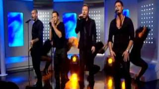Boyzone - This Morning singing Love Is A Hurricane