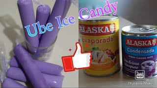 Soft Ube Macapuno Ice Candy/Mini business@Home