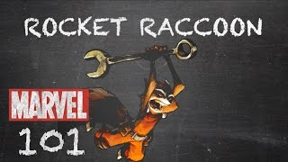 Fighting Ball of Fur and Fangs - Rocket Raccoon