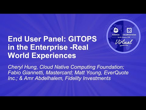 Image thumbnail for talk End User Panel: GITOPS in the Enterprise - Real World Experiences