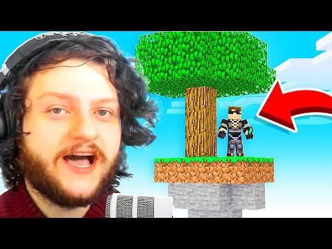Minecraft Skyblock #1 My New Island! - SkyDoesMinecraft